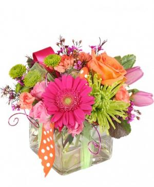 Happy Thoughts Colorful Bouquet in Parker, CO | PARKER BLOOMS