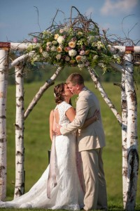 Custom Ceremony Flowers Wedding Arrangements
