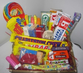 Custom Made Candy & Goodie Baskets Basket