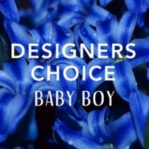 Designers Choice Baby Boy Arrangement
