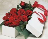 Dozen Roses - Gift Boxed ROSE6 in Edmonton, AB | JANICE'S GROWER DIRECT