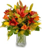 DRAGONFIRE BOUQUET in Rockville, MD | ROCKVILLE FLORIST & GIFT BASKETS