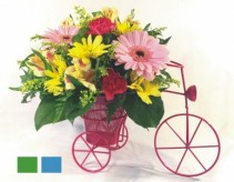 Driving Miss Daisy Fresh Flowers in container