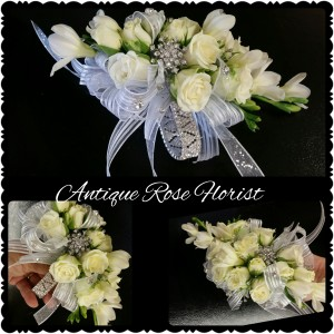 blingy corsage
