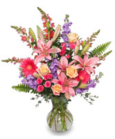 EFFERVESCENT BLOOMS Bouquet in Yorba Linda, CA | EVERBLOOMING FLORAL & GIFT