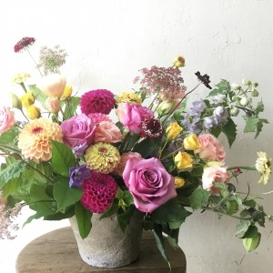 English Garden Autumn Arrangement