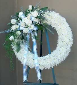 Eternal Life Sympathy Wreath