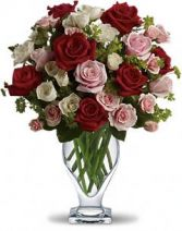 Exceptional Mixed Roses Fresh Rose Arrangement