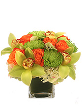 Exotic Greenness Bouquet