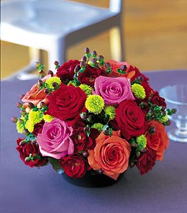 Eye Popping Beauty! Roses and other mixed flowers in Milford, PA | MYER THE FLORIST INC.