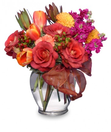 FALL FLIRTATIONS Vase Arrangement