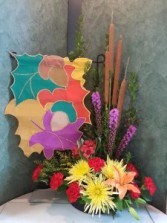 Fall Garden Banner Bouquet