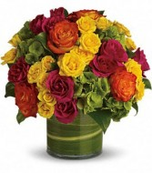 Falling Leaves Arrangement in Walpole, MA | VILLAGE ARTS & FLOWERS