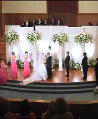 Altar/Pedestals/Columns Wedding Ceremony Flowers in Harlingen, TX | FLOWERS BY SELENA