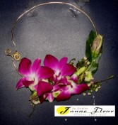 Wedding-Floral Necklace Custom Design. Please call for details and prices