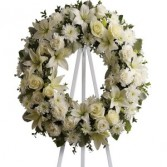 Floral Wreath Tribute