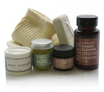 Foot Care Gift Set for Him From Ora's Amazing Herbal
