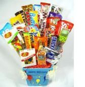 FOR CANDY LOVERS Gift Basket in Pembroke, MA | CANDY JAR AND DESIGNS IN BLOOM