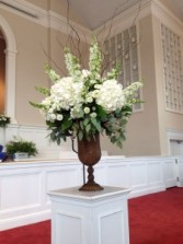 Front Ceremony Arrangement