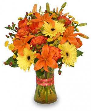 Flor-Allure Bouquet of Summer Flowers in Ralston, NE | A FLOWER BASKET