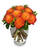FLAMES OF PASSION Roses Arrangement in Vancouver, WA | CLARK COUNTY FLORAL