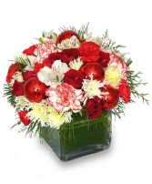 FROM THE HEART Holiday Bouquet in Warren, OH | FLORAL DYNASTY