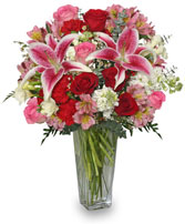 ETERNALLY YOURS Flower Arrangement Best Seller in Fairbanks, AK | A BLOOMING ROSE FLORAL & GIFT