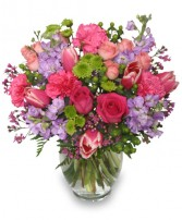 POETIC HEART BOUQUET Floral Arrangement in Salisbury, MD | FLOWERS UNLIMITED