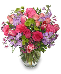 Poetic Heart Bouquet Floral Arrangement