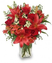 ROMANCER ENHANCER Bouquet Best Seller in Louisburg, KS | ANN'S FLORAL, ETC.