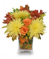 WINDY AUTUMN DAY Bouquet in Springfield, MA | REFLECTIVE-U  FLOWERS & GIFTS