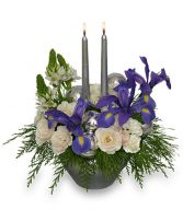 FROSTY TWILIGHT Floral Arrangement in Clearwater, FL | NOVA FLORIST AND GIFTS