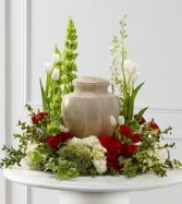 FTD Tears of Comfort Cremation Arrangement (urn not included)