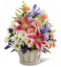 FTD Wondrous Nature Basket Arrangement