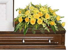 FULL SUN MEMORIAL Funeral Flowers in Canoga Park, CA | BUDS N BLOSSOMS FLORIST
