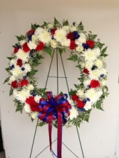 Funeral Wreath Sympathy Arrangements