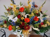 GARDEN OF MEMORIES Basket Spray