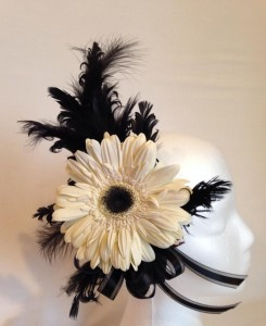 Gerber Daisy Hair Piece  in Richland, WA | ARLENE'S FLOWERS AND GIFTS
