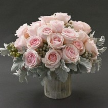 PASTEL  PINKS  Vase arrangement