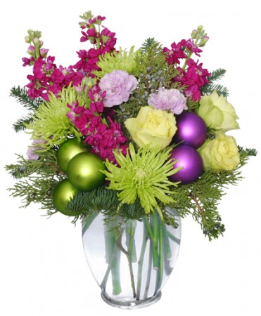 "jazz up your christmas decor with a little ""holidazzle"" from your, Natural flower"