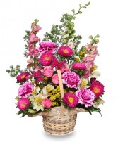 FRIENDSHIP BLOOMS Basket of Flowers in Salisbury, MD | FLOWERS UNLIMITED
