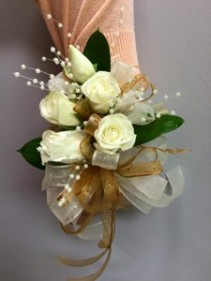 Gold Strike Prom Corsage