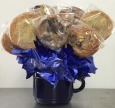 Gourmet Cookie Bouquet NEW!!  Soft, Thick and Chewy! in Springfield, IL | FLOWERS BY MARY LOU INC