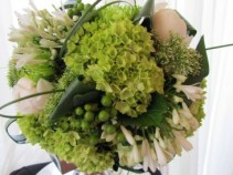GREEN GODDESS Hand-Tied Bouquet