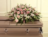 HALF CASKET FLOWERS FROM IMMEDIATE FAMILY From parents, children and all the grandchildren chose your colors, just call.