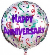 Happy Anniversary Mylar Balloon Mylar balloon