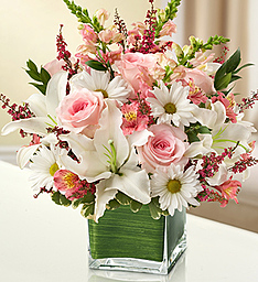 Simply Pinks and Whites