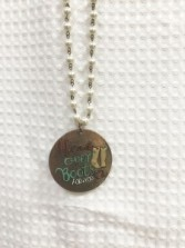 Head Over Boot For You Necklace