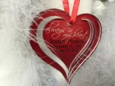 HEART MEMORIAL ORNAMENT