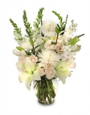 Heavenly Aura Flower Arrangement in Parowan, UT | BEV'S FLORAL & GIFTS